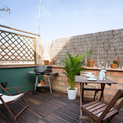 appartement barcelone terrasse
