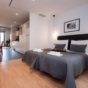 studio appartementen in barcelona