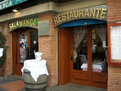 Seafood Restaurant Salamanca