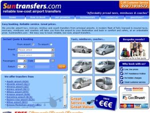 Suntransfers: Cheap Airport Transfers