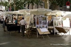 plaza-del-pi-painter-market