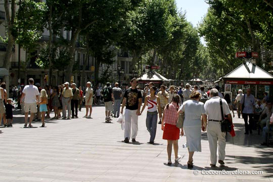 La Rambla – The most famous street in Barcelona