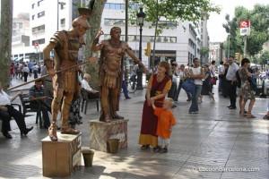ramblas-living-statue-romains