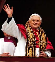 "The Pope ""Benedict XVI"" visits Barcelona"