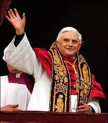 "The Pope ""Benedict XVI"" visits Barcelona"