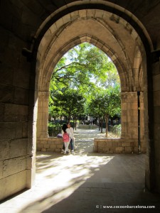 el jardi park entrance