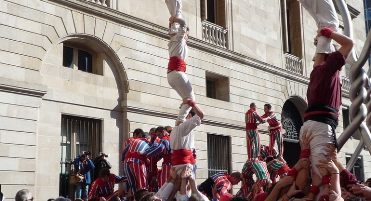 Barcelona with kids: Santa Eulalia Festival (February 11th & 12th, 2012)