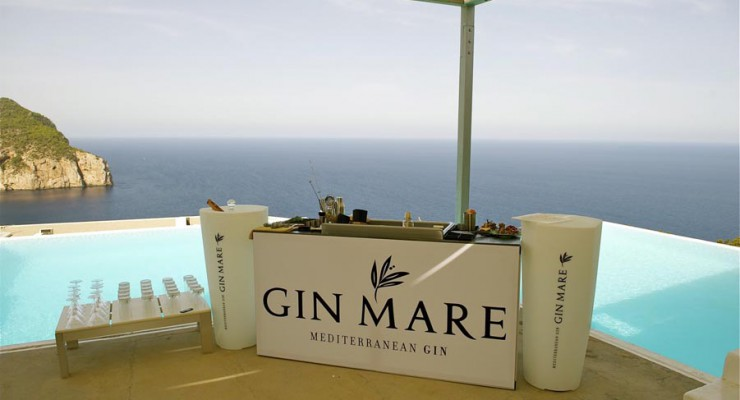 Gin Mare, the spanish Gin to drink in Barcelona
