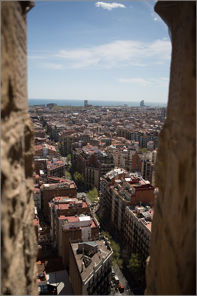 sagrada familia view
